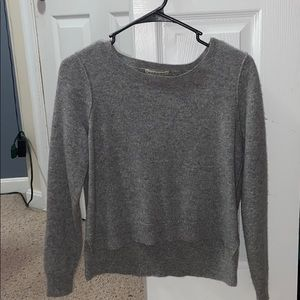 Cashmere sweater with colored small dots